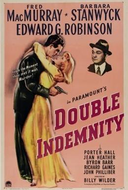 Постер фильма Двойная страховка (1944)