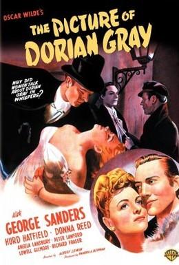 Постер фильма Портрет Дориана Грея (1945)