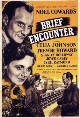 Постер фильма Короткая встреча (1945)