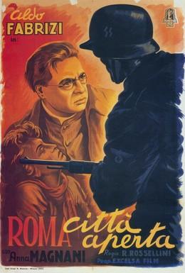 Постер фильма Рим, открытый город (1945)