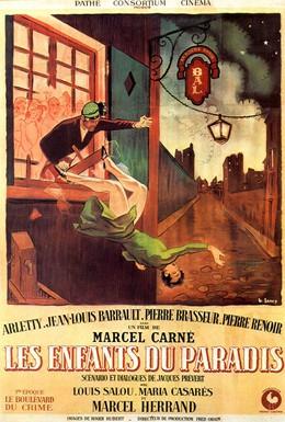 Постер фильма Дети райка (1945)