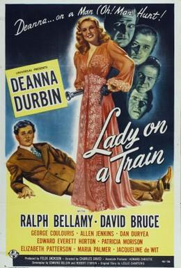 Постер фильма Леди в поезде (1945)