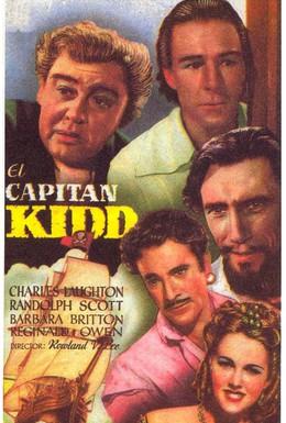 Постер фильма Капитан Кидд (1945)