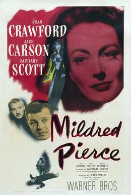Постер фильма Милдред Пирс (1945)