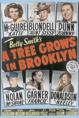 Постер фильма Дерево растет в Бруклине (1945)