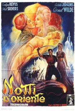 Постер фильма Тысяча и одна ночь (1945)