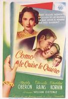 Эта любовь – наша (1945)