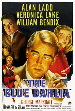 Постер фильма Синий георгин (1946)