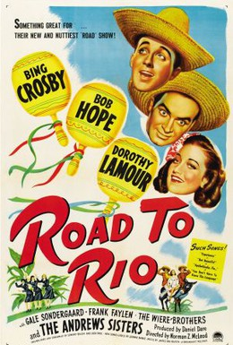 Постер фильма Дорога в Рио (1947)