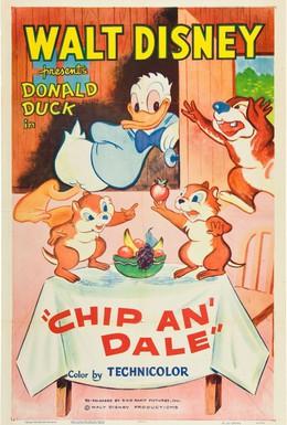 Постер фильма Чип и Дейл (1947)