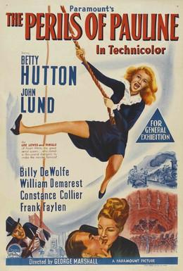 Постер фильма Злоключения Полины (1947)