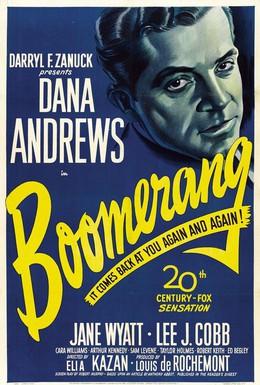 Постер фильма Бумеранг! (1947)