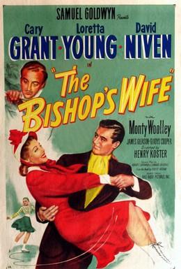 Постер фильма Жена епископа (1947)