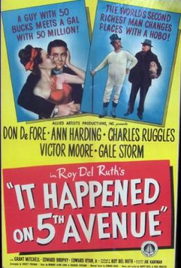 Постер фильма Это случилось на Пятой авеню (1947)