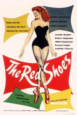 Постер фильма Красные башмачки (1948)