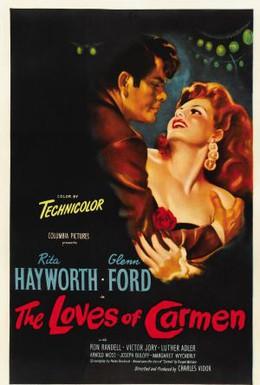Постер фильма Кармен (1948)