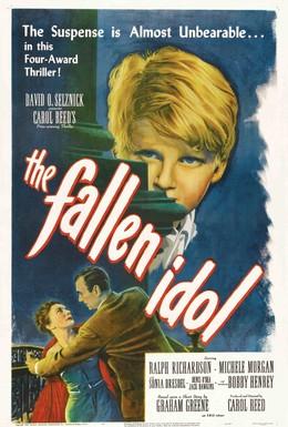Постер фильма Поверженный идол (1948)