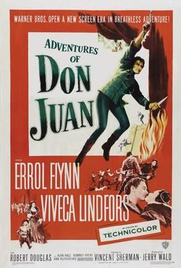 Постер фильма Похождения Дон Жуана (1948)