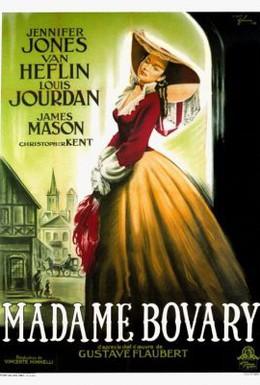 Постер фильма Мадам Бовари (1949)