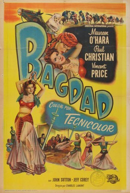 Постер фильма Принцесса Багдада (1949)