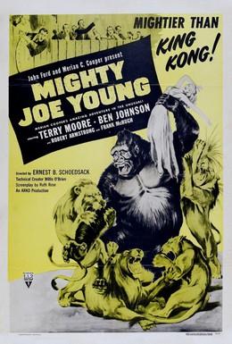 Постер фильма Могучий Джо Янг (1949)