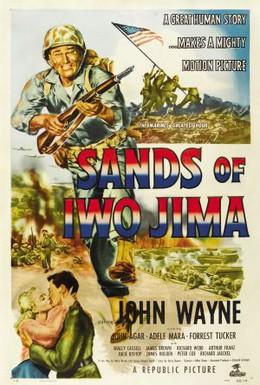 Постер фильма Пески Иво Джимы (1949)