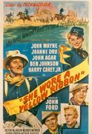 Она носила желтую ленту (1949)