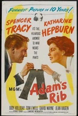 Постер фильма Ребро Адама (1949)