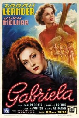 Постер фильма Габриэла (1950)
