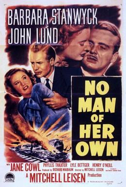 Постер фильма Не её мужчина (1950)