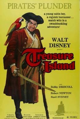 Постер фильма Остров сокровищ (1950)