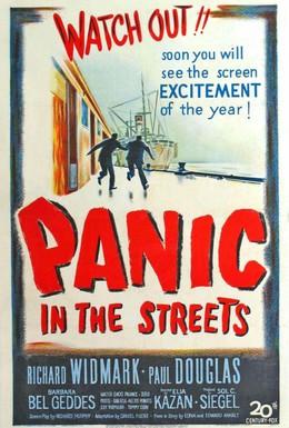 Постер фильма Паника на улицах (1950)