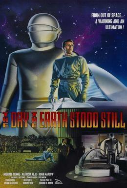 Постер фильма День, когда остановилась Земля (1951)