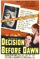 Решение перед рассветом (1951)