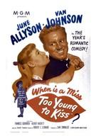 Слишком молода, чтобы целоваться (1951)