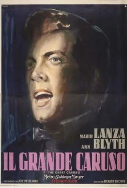 Постер фильма Великий Карузо (1951)