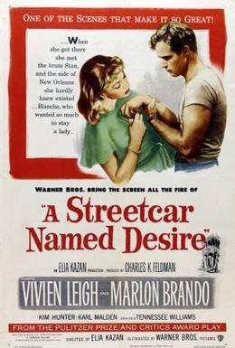 Постер фильма Трамвай Желание (1951)