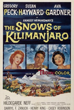 Постер фильма Снега Килиманджаро (1952)