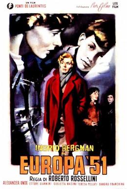 Постер фильма Европа 51 (1952)