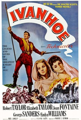 Постер фильма Айвенго (1952)