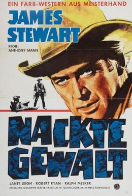 Постер фильма Обнаженная шпора (1953)