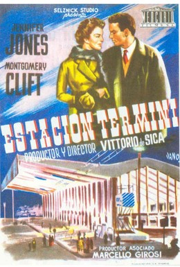 Постер фильма Вокзал Термини (1953)