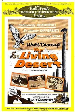 Постер фильма Живая пустыня (1953)