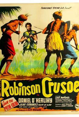 Постер фильма Робинзон Крузо (1954)