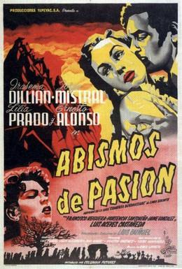 Постер фильма Бездны страсти (1953)