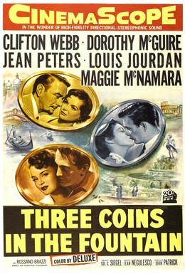 Постер фильма Три монеты в фонтане (1954)