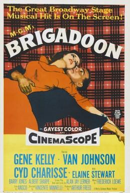 Постер фильма Бригадун (1954)