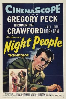 Постер фильма Ночные люди (1954)