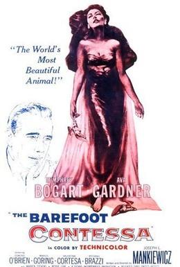 Постер фильма Босоногая графиня (1954)