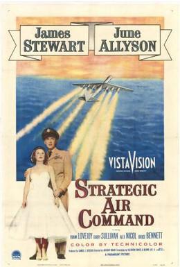 Постер фильма Стратегическое воздушное командование (1955)